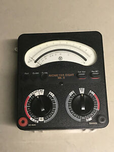 AVO 8 Mk6 Test Meter with AVO accessories excellent condition
