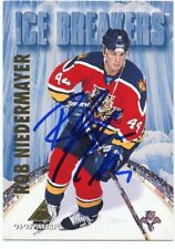 ROB NIEDERMAYER PANTHERS AUTOGRAPH AUTO 94-95 PINNACLE ICE BREAKERS #469 *38060