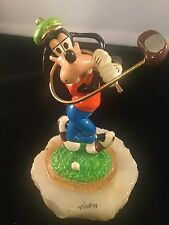 Vintage Disney Goofy Golfing Limited Edition 179 Of 950 Ron Lee