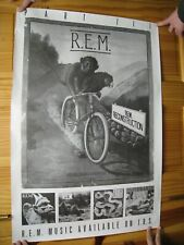 R.E.M. Poster Reconstruction REM Part 2 Monkey On A Bike