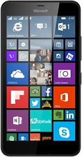 """Mint Microsoft Lumia 640 XL RM-1063 4G LTE  Black Unlocked Smartphone 5.7""""HD720"""
