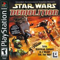 🔥 Star Wars Demolition Playstation PS1  Complete CIB