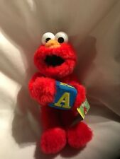 "Elmo Sesame Street Plush Doll 2006 Nanco plush 9"""
