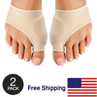 2Pack- Big Toe Splint Straightener Corrector Foot Pain Relief Hallux Valgus Pair