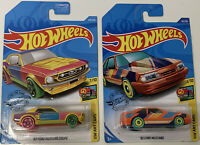 Hotwheels Ford Mustang Rainbow  (2-Pack) 1:64 Sealed Shipped Free