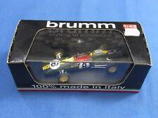 Modellauto Lotus Classic Team Brumm grün/gelb Maßstab 1:43