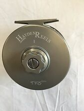 HAYDEN & TFO I -  LARGE ARBOR FLY REEL - RETAIL $399.95
