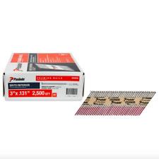 Paslode 3 inch 30 Degree Paper Tape Framing Nails 2500 Pack Box Nail Gun Tool