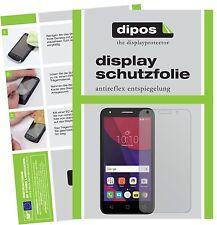 2x Alcatel Pixi 4 Film de protection d'écran protecteur antireflet dipos