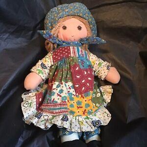 Vintage 1974 Original Holly Hobbie 9 Inch Doll By Knickerbocker