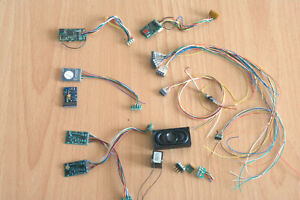 Konvolut Digitaldecoder, (ESU, Lenz, Uhlenbrock) Lautsprecher, Stecker