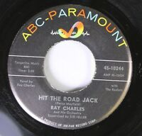 Northern Soul Popcorn 45 Ray Charles - Hit The Road Jack / The Danger Zone