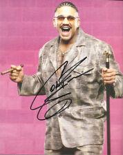 m161 Godfather signed wrestling 8x10 w/Coa wwf tna ecw wcw nwa