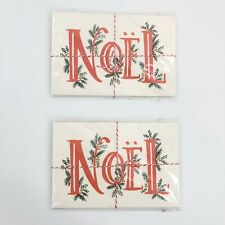 Rifle Paper Co. Postcards Noel Christmas Holiday Cards 2 Packs of 10 Sealed New