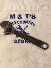 Vintage Keen Kutter 6 inch adjustable wrench, Shapleigh's St. Louis, USA