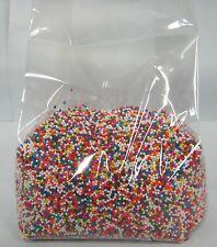 Nonpareils Non-Pareils Sprinkles 12 oz Rainbow /multicolor Cookie Cake Ice Cream