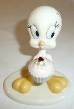 Tweety Bird Birthday Figurine - January or July - Red Stone - Lenox Looney Tunes