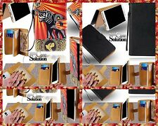 2 Custodia Leather Flip Card  Cover Various Ulefone Model SmartPhones VEDI INSER