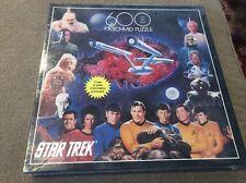 VTG 1993 Star Trek 600 pc puzzle F.X.Schmid No.90041 Exquisit Made in USA (JD)