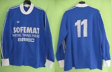 Maillot Adidas Ventex Sofemat Briec jersey Porté #11 vintage 70'S - 4 x 5 / L