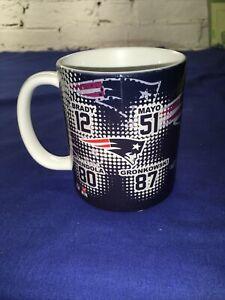 New England Patriots 11 oz Traditional Coffee Mug, Brady, Mayo, Gronkowski