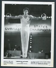 MITCH GAYLORD in American Anthem '86 GYMNAST RINGS