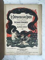Richard Wagner Alfred Ernst Le crépuscule des dieux 1902 ?