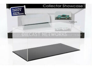 1:12 1:18 Display Case Clear cover with black base DIORAMAX 99918005