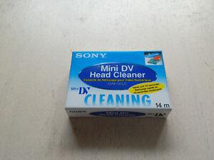 Sony Mini DV Head Cleaner Kassette NEU und OVP