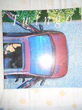 Renault Twingo range brochure Sep 2003 Hungarian text