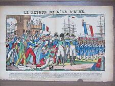 GRANDE IMAGE EPINAL 1880 NAPOLEON RETOUR DE L'ILE D'ELBE 26 FEVRIER 1815