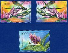 2006. Belarus. Orchids of Belarus. Set. MNH.