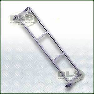 Roof Rack Access Ladder Galvanised Land Rover Series and Defender (DA1089)