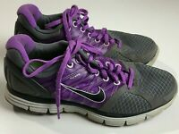 Nike Lunarglide 2 Running Shoes  Athletic Gray & Purple Women's US Size 8