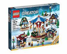 Lego ® exclusivo 10235 invernal mercado * nuevo con embalaje original * encaja con 10249, 10216, 10245