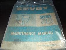 1963 Gm Envoy Series Ab Service Manual Book