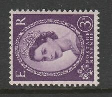 SPECIAL OFFER GREAT BRITIAN 1955 3d EDWARD S/WAYS WATERMARK SG 545b MNH.