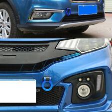 1Pcs Blue Universal Round Car Auto Decoration Dummy Tow Hook Sticker Trailer