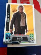 STAR WARS  TOPPS CARREFOUR FORCE ATTAX 96 HAN SOLO HARRISON FORD