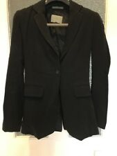 Jigsaw Black Jacket Size 8