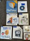 FileMaker Pro 3.0 for Windows 95 and versions 4 5 and 7 for Mac with serial #s