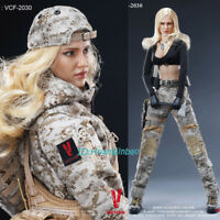 VERYCOOL VCF-2030 Camouflage Female Soldier Max 1/6 Scale Model In Box In Stock