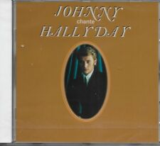 JOHNNY HALLYDAY ALBUM 1 CD *JOHNNY CHANTE HALLYDAY* 12 TITRES NEUF SOUS BLISTER