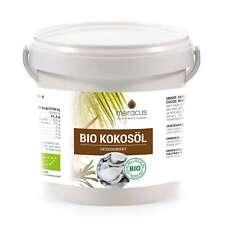 meracus Bio Kokosöl, Geschmacksneutral (desodoriert), 1er Pack (1 x 1000 ml) im