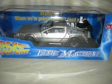 BACK TO THE FUTURE TIME MACHINE DeLorean 1:18 SCALE BY SUN STAR MINT IN BOX