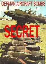 Avión secreto alemán Luftwaffe Bomba & Fuze, manual en CD B