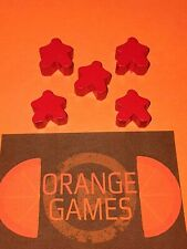 Red Meeples (set of 5)