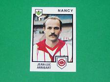 N°156 JEAN-LUC ARRIBART AS NANCY LORRAINE ASNL PANINI FOOTBALL 85 1984-1985
