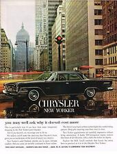 Vintage 1962 Magazine Ad Chrysler You May Well Ask Why It Doesn't Cost More