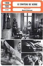 LE CHATEAU DE VERRE - Morgan,Marais,Servais(Fiche Cinéma)1950 - The Glass Castle